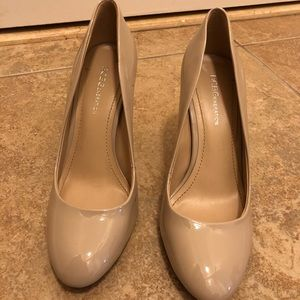 Shoes - BCBG nude heels